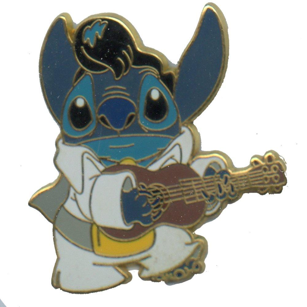Disney Pin #38770: WDW DLR - Stitch as Elvis