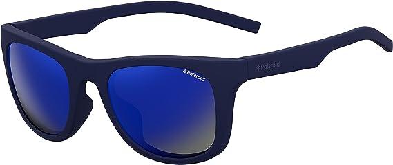 Polaroid PLD 7020/S 5X PJP 52 Gafas de sol, Azul (Bluette/Grey Grey), Unisex Adulto