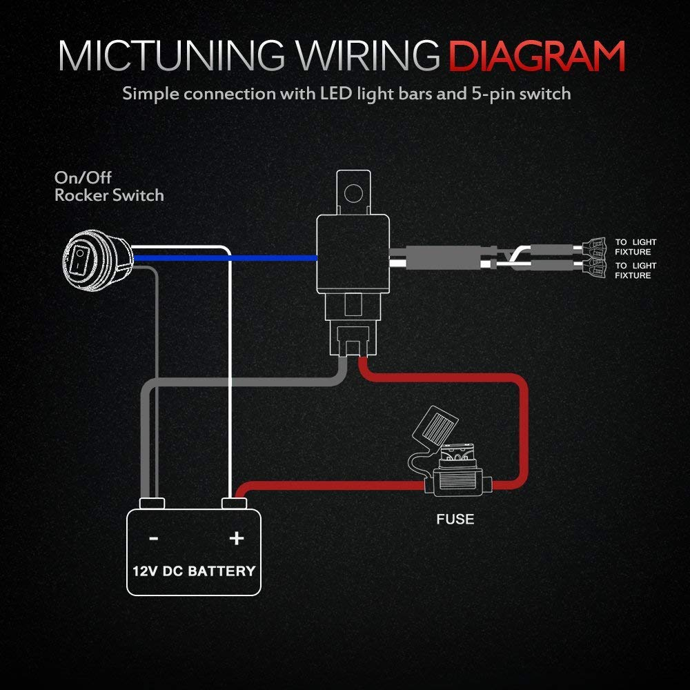 Led Light Bar Fixture Wiring Diagram Rc Schematic Chevy Ignition