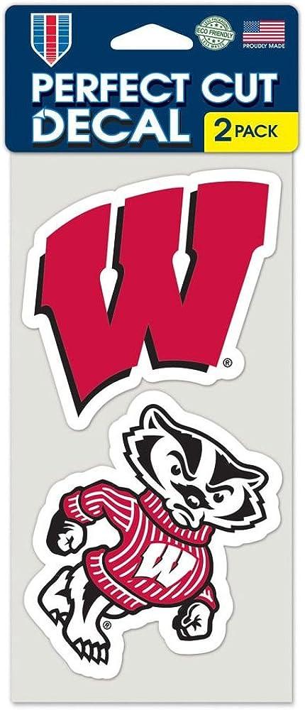WinCraft NCAA Set of 2 Die Cut Decals
