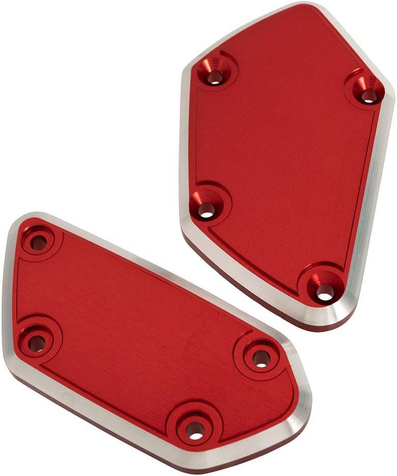Nero Tappi serbatoio olio moto per freno anteriore e frizione Alluminio CNC per R1200GS LC 2013-2016 per R Nine T 2015-2016 2 pezzi