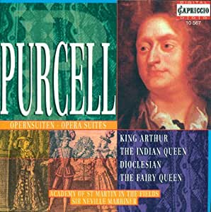 Purcell H.: Opera Suites (Aca