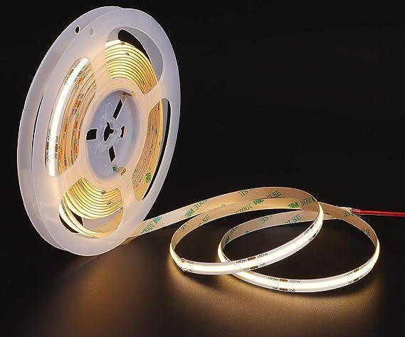Super High Power 12V 24V LED Strip COB Flexible Leds Light Lamp For DIY Lighting