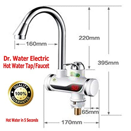 Instant Hot Water Electric Tap Faucet Tankless Dr Water For
