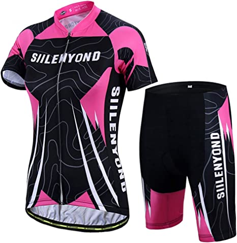OD-B Ciclismo para Mujer Conjunto De Camisetas De Bicicleta, Ropa ...