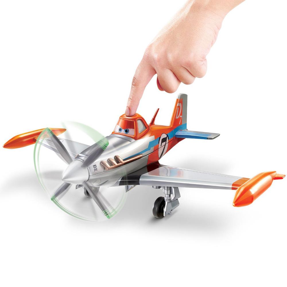 com: Disney Planes Deluxe Talking Dusty Crophopper Plane: Toys & Games