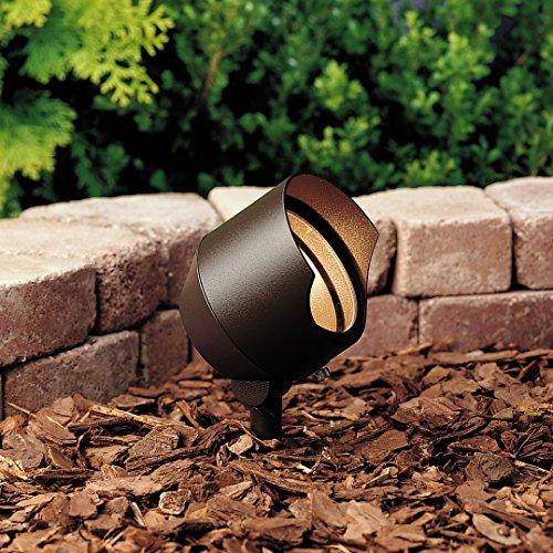 Textured Architectural Bronze Transformer - Kichler 15381AZT Landscape 12V Accent in Textured Architectural Bronze