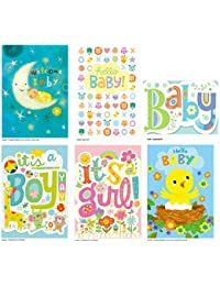 Peaceable Kingdom Congratulations Cards for New Babies - Box of 12 Cards and Envelopes BOBEBE Online Baby Store From New York to Miami and Los Angeles