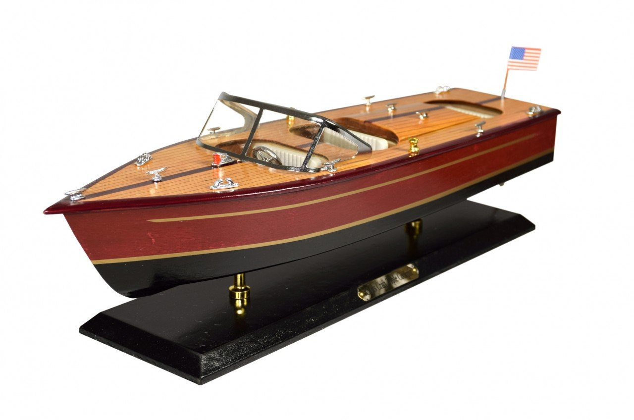 americano motor Boot Nave heliobil in legno