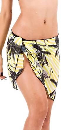 Anaisy Faldas Mujer Verano Elegantes Gasa Vintage Estampado Beach ...