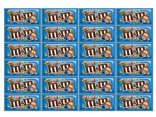 M&M Pretzel Chocolate 24Ct/1.14 oz - TJ12 by M&M