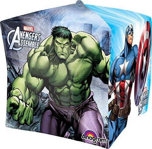 Anagram International Avengers Cubez Balloon Pack, 15″, Multicolor