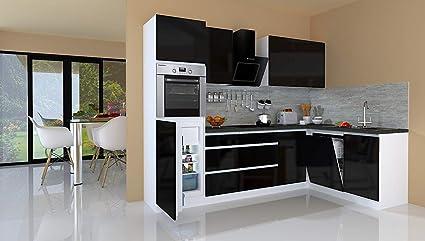 Respekta Winkelküche Cucinino Cucina L-FORMA Cucina senza ...