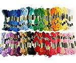 Tinksky 100 Skeins of 8M Multi-color...
