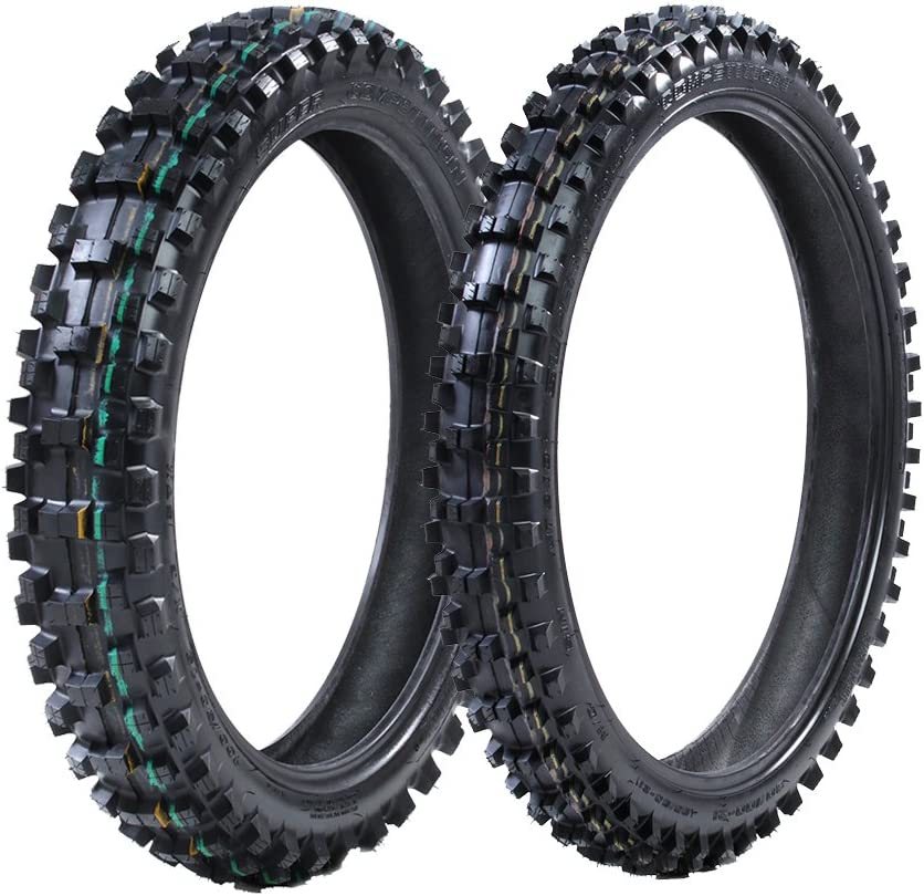 ProTrax Front 80//100-21 /& Rear 110//100-18 Inch Tire Combo Sand to Soft Terrain