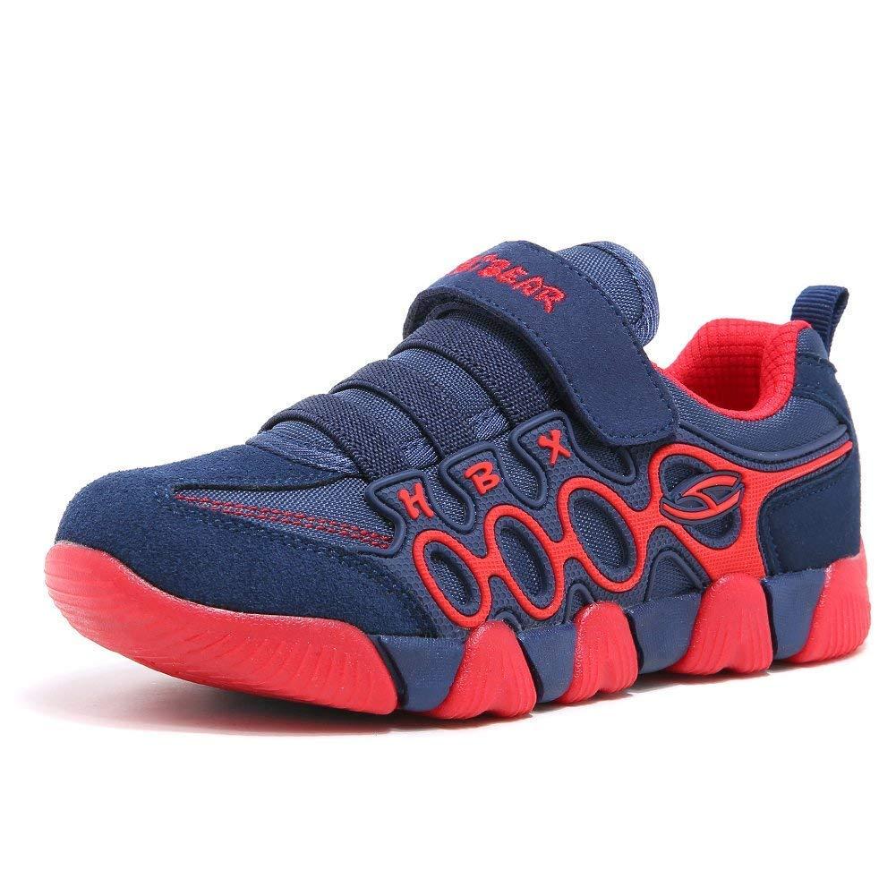 GUFANSI Enfant Chaussures de Course Garçon Filles Basket Chaussure Scolaire Respirant Sneaker Shoes pour Unisex-Kids de Plein air