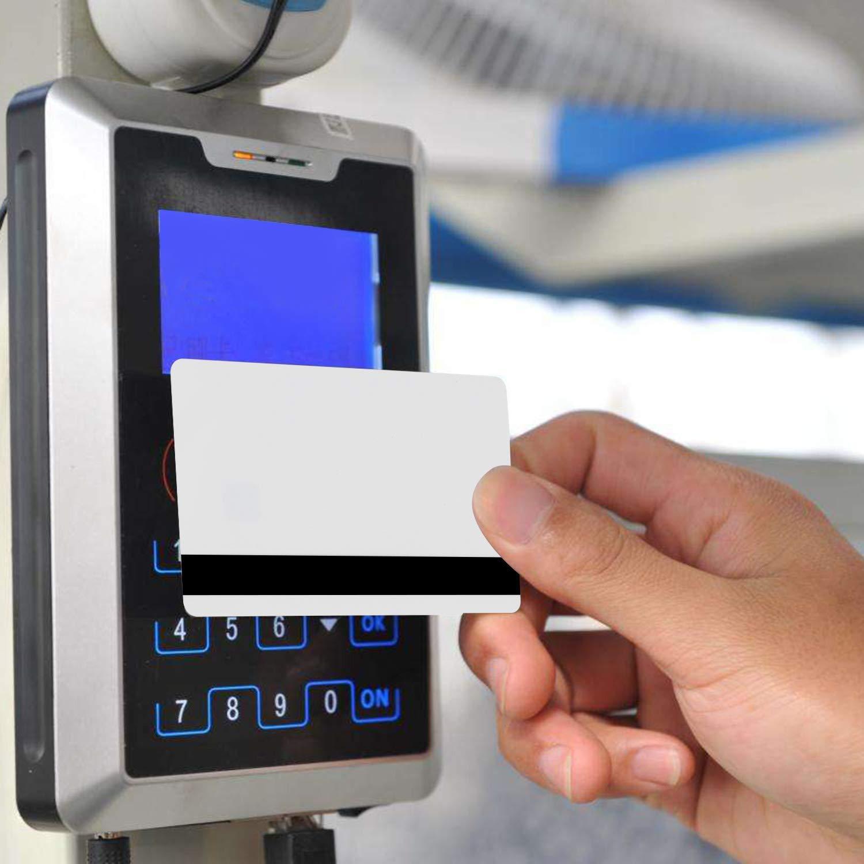 1 pezzi PVC Carta J2A040 Java JCOP Chip Card JCOP21-40K Java Smart Card con 2 Tracce 8.4mm HICO Magnetic Stripe Intelligente Carta