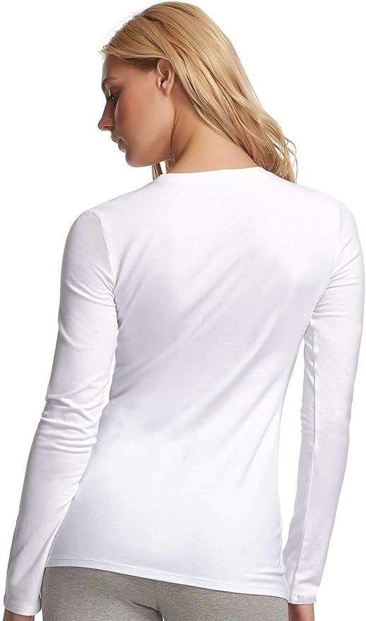 Long Sleeve Crew Neck Shirt Cotton /& Modal Felina