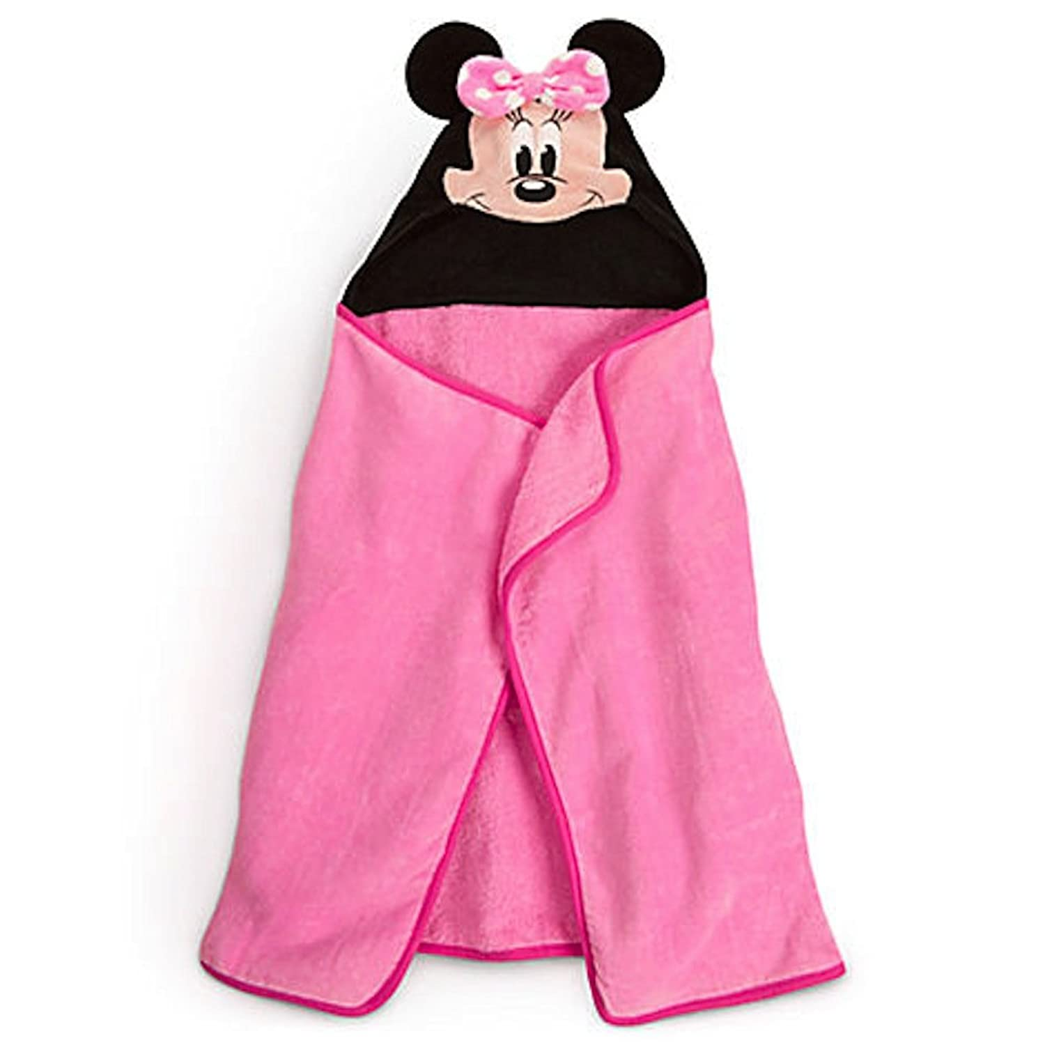 Amazon Disney Minnie Mouse Pink Hooded Towel for Baby Toddler