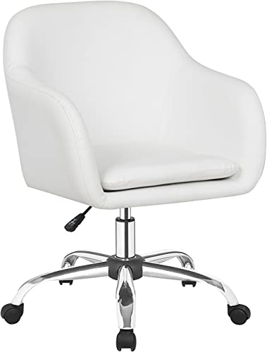 IDS Office Selection White Home Office Desk Swivel Chair,