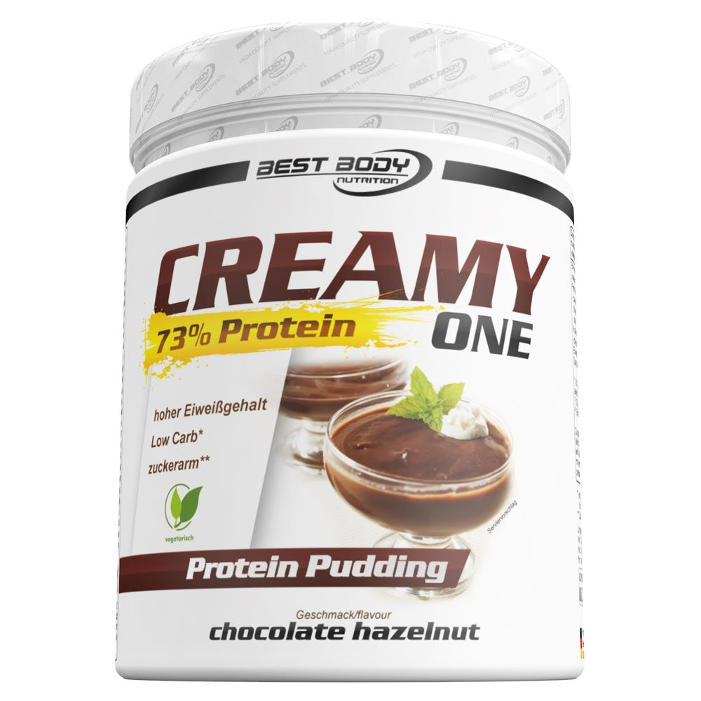 Best Body Nutrition Creamy One Protein Pudding Chocolate Hazelnut - 300 gr: Amazon.es: Salud y cuidado personal