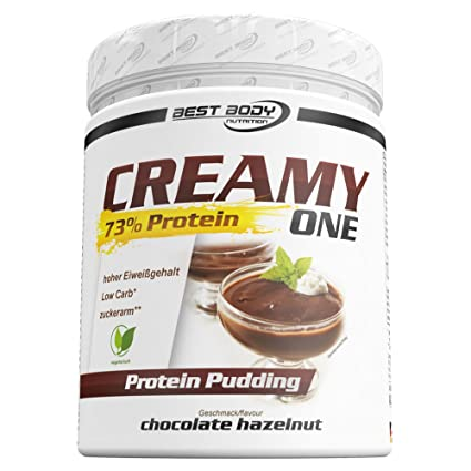 Best Body Nutrition Creamy One Protein Pudding Chocolate Hazelnut - 300 gr