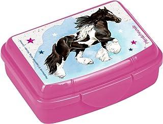 Die Spiegelburg 14729, lunch box/contenitore porta cibo - colazione e merenda a scuola - adatto per bambini - serie: Gli amici dei cavalli - cavallo zingaro Unbekannt