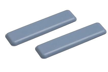Metafranc Easyglider 25 x 100 mm - selbstklebend - 2 Stück - PTFE Gleitoberfläche - Für ein leichtes Verschieben schwerer Möb