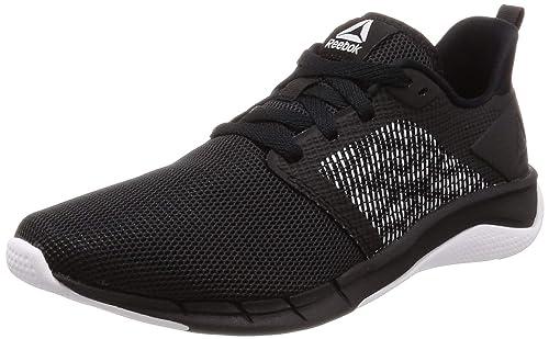 to buy super popular usa cheap sale Reebok Women's Print Run 3.0 Black/White Shoes-6 UK (39 EU ...