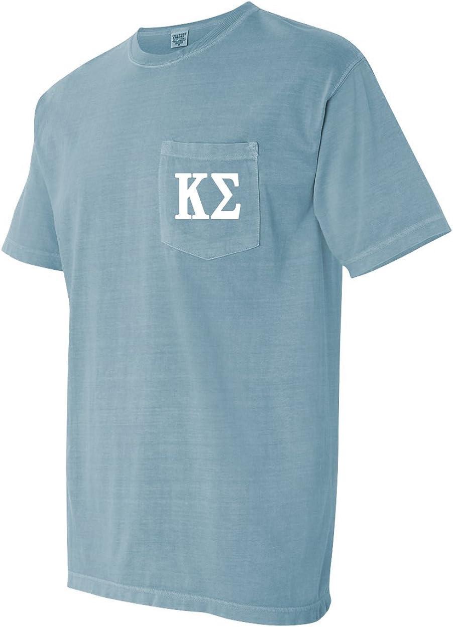 Kappa Sigma Fraternity Comfort Colors Pocket T-Shirt