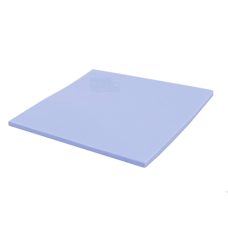 HALNZIYE Pad T/érmico 100/x 100/x 1/mm Azul 4.0/W//Router Silicon Thermal Pad 10/x 10/cm