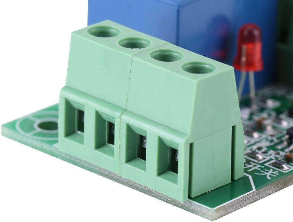 Modulo di controllo del componente elettronico del rel/è di innesco del circuito di avvio e arresto bistabile a 1 pulsante bistabile DC 12V