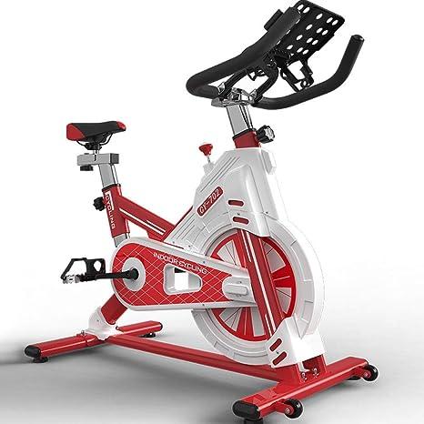 LXDDP Bicicleta Ciclismo Interior, Studio Cycles Máquinas Ejercicio Cardio Workout Actividades Interior Bicicleta Spinning, Asientos Ajustables Manillar Capacidad Carga máxima 100 kg: Amazon.es: Deportes y aire libre