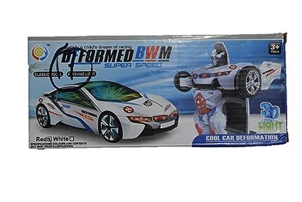 Buy Robot CAR 3D Deformed BWM Super Speed Cool Car