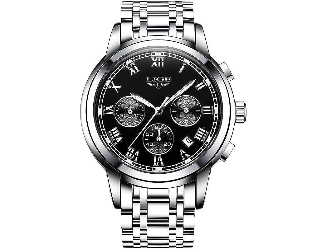 Amazon.com: Relojes de Hombre De Moda Reloj Hombre Men ...