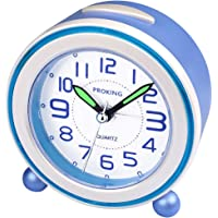 SOCICO Niños Despertadores,Despertadores Despertadores Analógicos para Niños Despertador