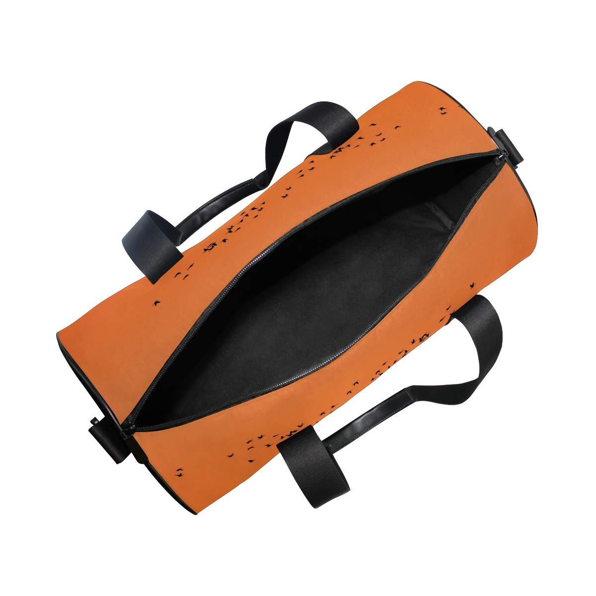 OuLian Duffel Bag Romantic Girl Women Garment Gym Tote Bag Best Sports Bag for Boys