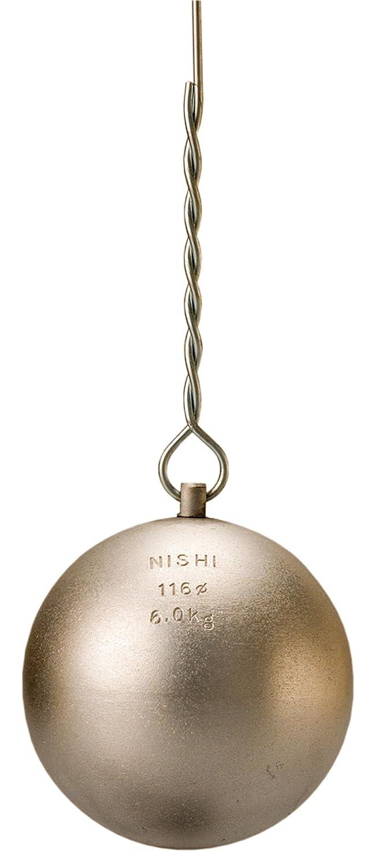 NISHI(ニシスポーツ) 陸上競技 ハンマー投 ハンマー練習用 6.0kg T5608 B00KDD1CSS