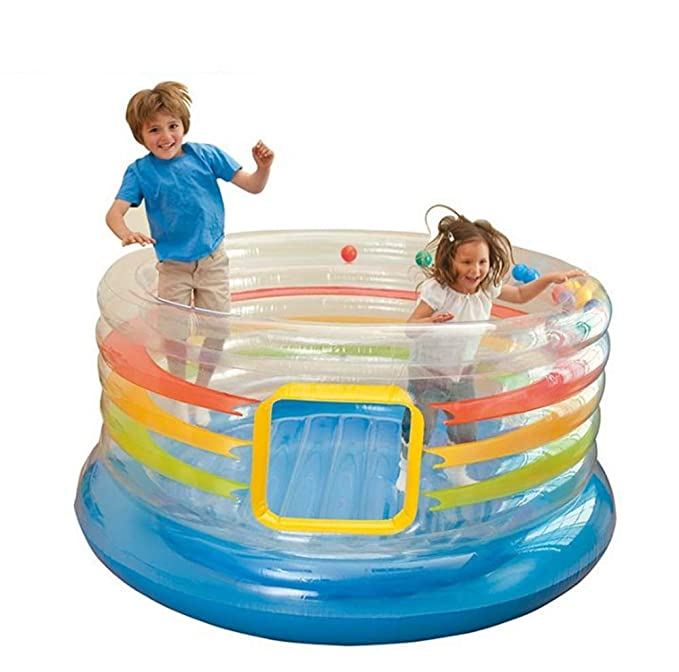YXS Inflable Castillo Hinchable Infantil, Dar inflables y ...