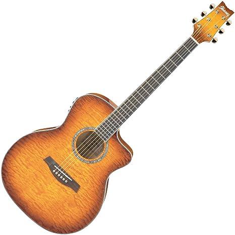 Ibanez – Guitarra Electro-Acoustique – SÃ © rie Ambiance A300E-VV ...