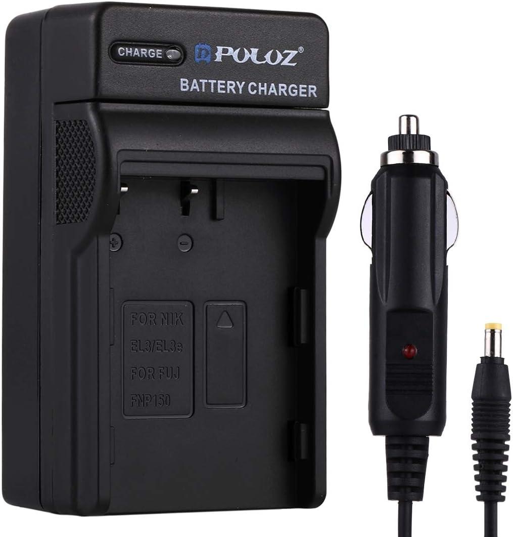 Perfect Home Digital Camera Battery Car Charger for Nikon EN-EL3 Fuji FNP150 Battery 8.54.73.8cm Durable EN-EL3e Size