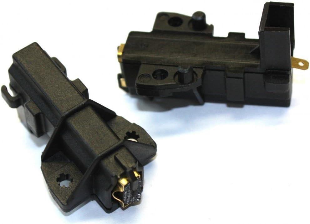 Daniplus - Conjunto de 2 cepillos, piezas de motores alternativos de MCA ceset para lavadoras Bauknecht Bañera de hidromasaje