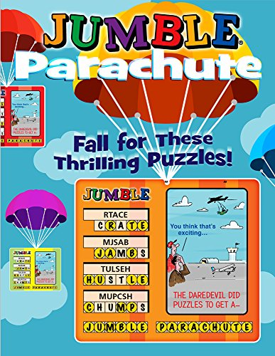 Jumble® Parachute: Fall for These Thrilling Puzzles! (Jumbles®)