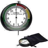YANSHON Medidor Profundidad Neumaticos 0-11mm Medidor de Profundidad
