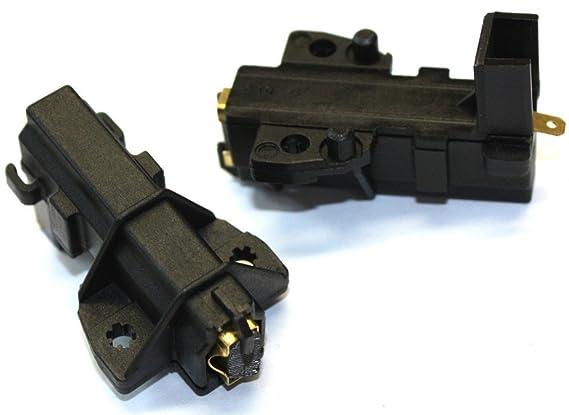 Daniplus - Set di 2 spazzole, ricambi alternativi per motori MCA CESET, per lavatrici Bauknecht Whirlpool
