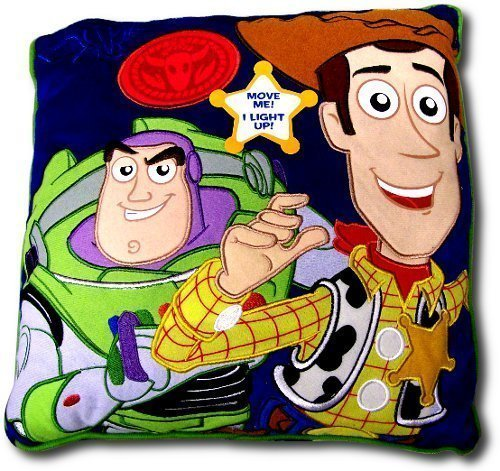 Disney Toy Story Led Light Up Decorative Pillow