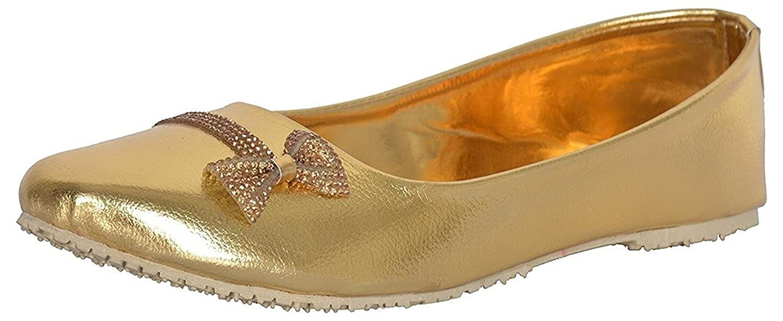 RYAG Party Wear Ethnic Rajasthani Jaipuri Bellies Shoes for ladies and Girls