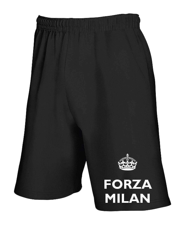 Speed Shirt pantalón Corto Chándal Negro TKC3756 Force Milan Negro ...
