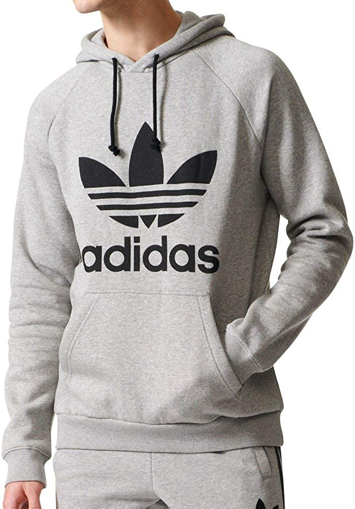 adidas Originals Men's Trefoil Hoodie at  Men's Clothing store