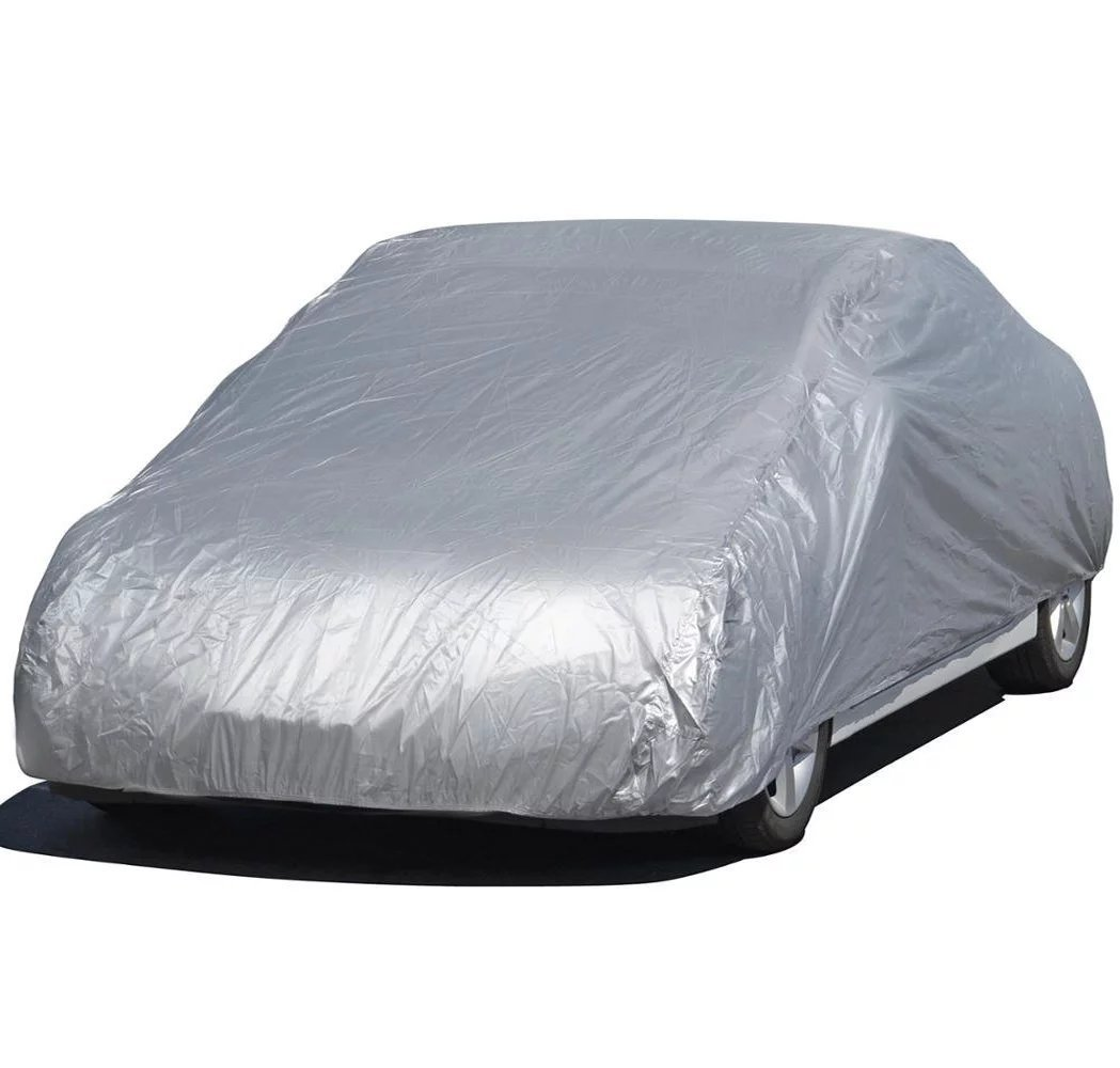 Feikai Car Cover, Universal Anti Sun UV Rain Styling Sunshade Heat Protection Dust Moist Water Resistan Dustproof Protective Outdoor Full Car Cover
